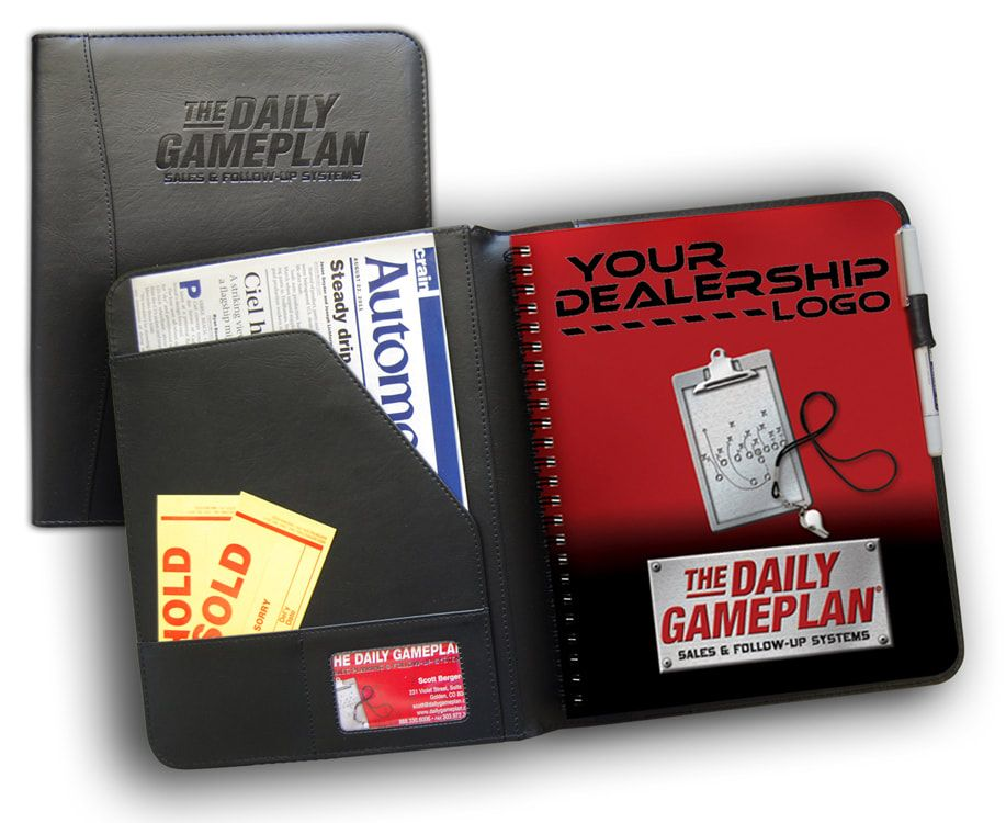 daily gameplan salesperson s business planner daily gameplan